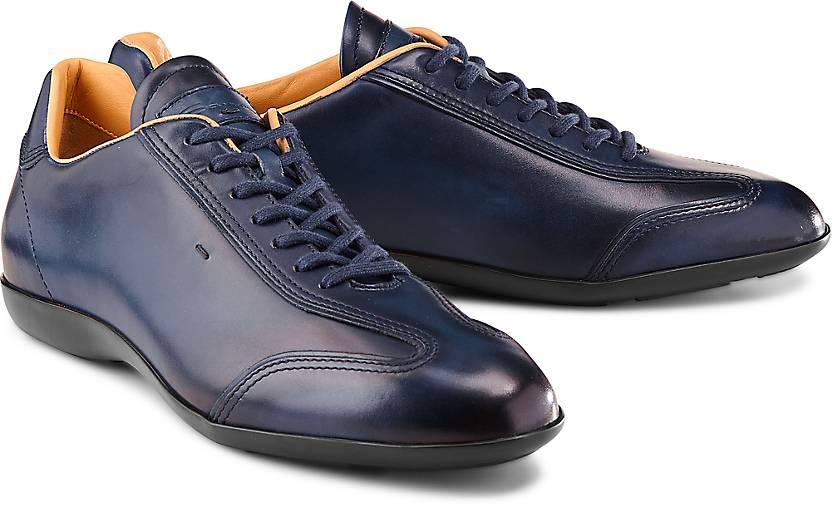 0be8646e4c6a70 Santoni - Freizeit-Schnürer - Freizeit-Schuhe - blau-dunkel - GÖRTZ