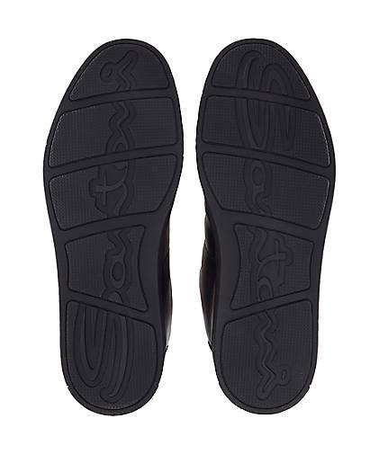 Santoni GÖRTZ Freizeit-Schnürer in schwarz kaufen - 47651001 | GÖRTZ Santoni Gute Qualität beliebte Schuhe fd655a