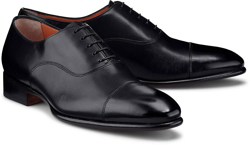 28c24336fdd74c Santoni Oxford-Schnürer in schwarz kaufen - 46405901