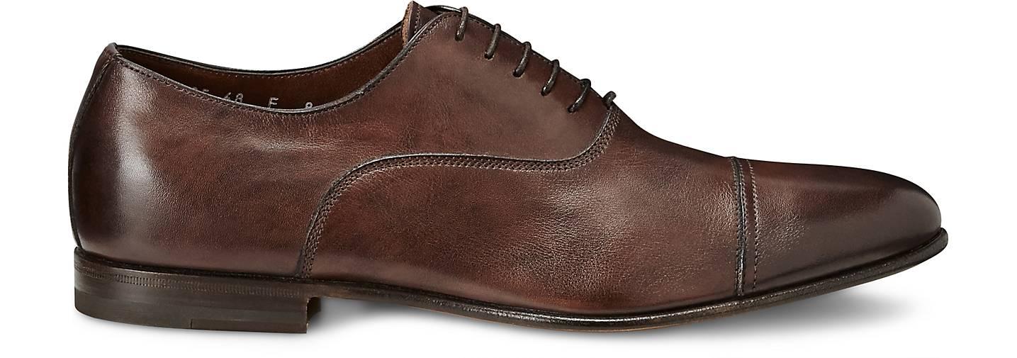 Santoni Oxford-Schnürschuh in in in braun-mittel kaufen - 45182402 GÖRTZ Gute Qualität beliebte Schuhe 754d01