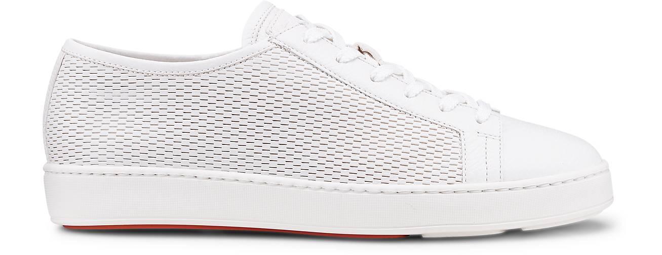 Santoni Turnschuhe in weiß kaufen - 47335101 47335101 47335101 GÖRTZ Gute Qualität beliebte Schuhe 61c135