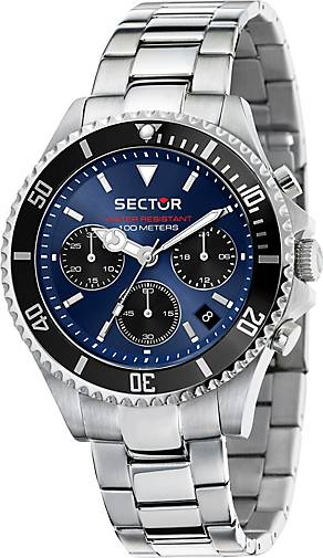 Sector Chronograph 230 43MM CHR BLUE DIAL BR