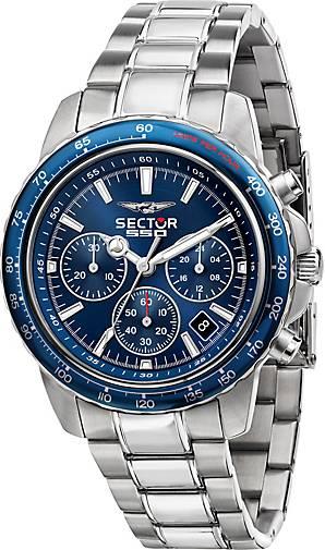 Sector Chronograph 550 VINTAGE 42MM CHR BLUE DIAL BR