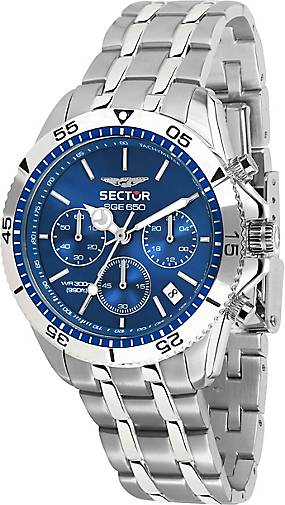 Sector Chronograph SGE 650 CHR 42MM BLUE DIAL BR