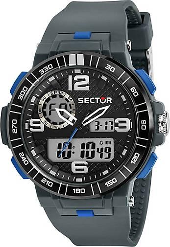 Sector Digitaluhr EX-28 46MM DIGITAL GREY STRAP