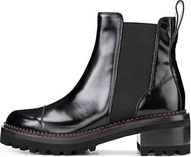 See by Chloé Chelsea-Stiefelette