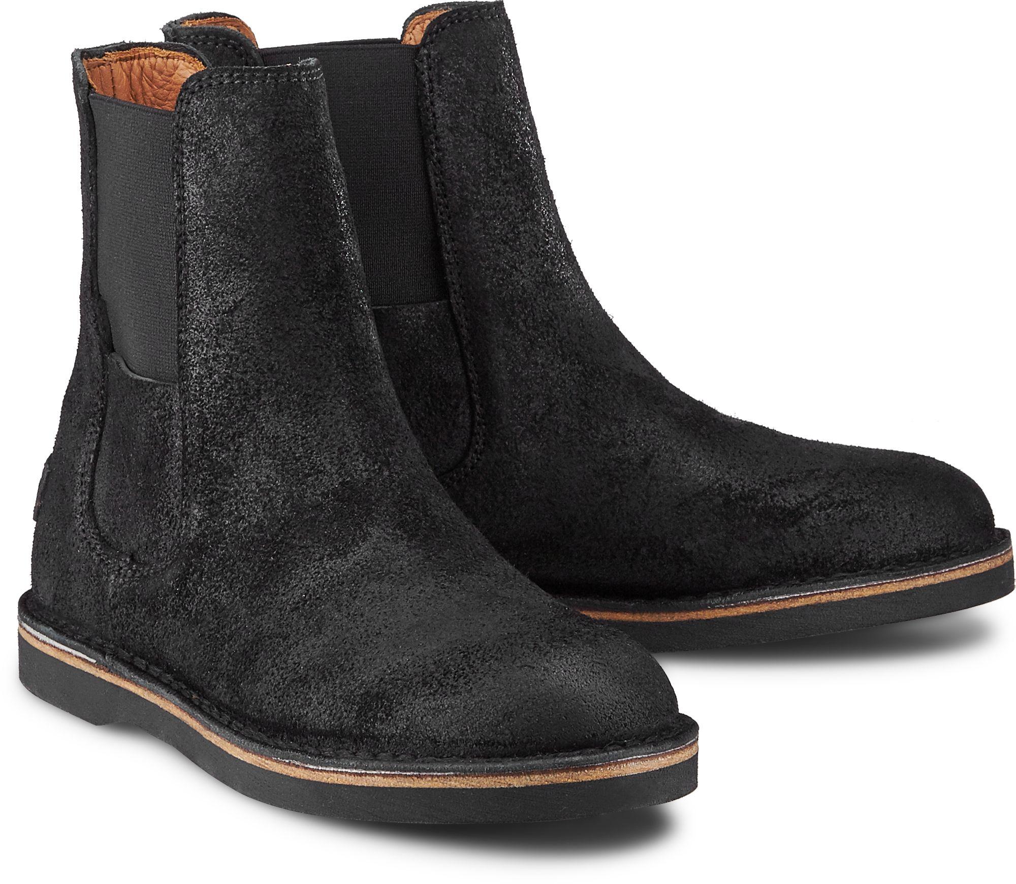 Chelsea Boots ALISSA von Shabbies Amsterdam in schwarz für