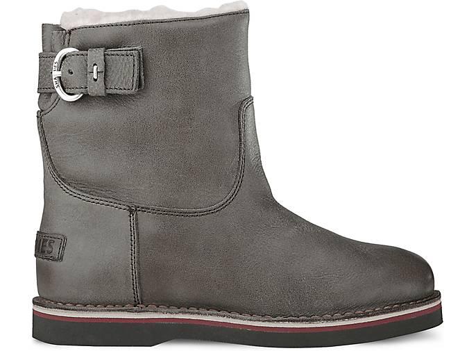 winter boots 17cm von shabbies amsterdam in grau hell f r. Black Bedroom Furniture Sets. Home Design Ideas