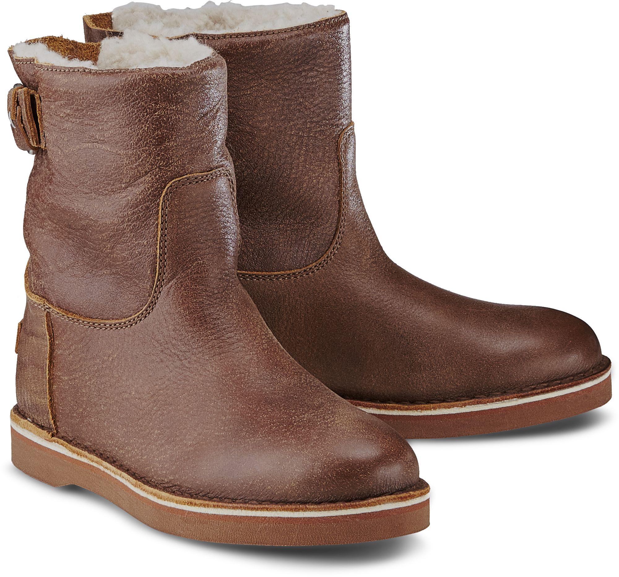 c777cdf74f783c Winter Boots von Shabbies Amsterdam in braun mittel für Damen. Gr.  36
