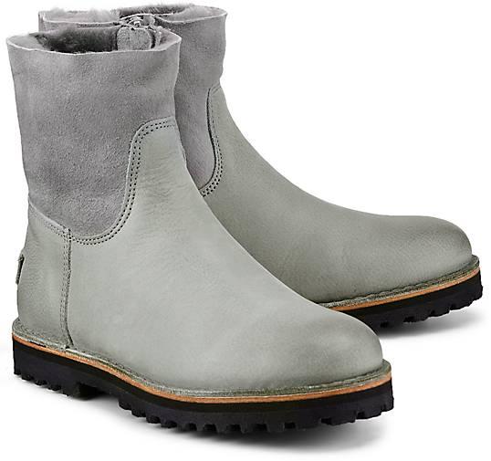 ad654147fc4e59 Shabbies Amsterdam Winter-Boots in grau-hell kaufen - 47722801