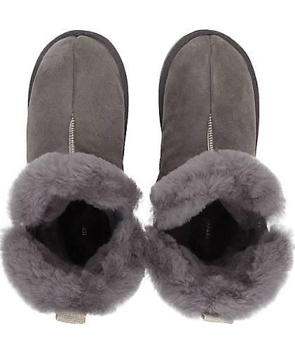 Shepherd Hausschuhe BELLA in grau-hell kaufen Qualität - 47889101 GÖRTZ Gute Qualität kaufen beliebte Schuhe 9b0443