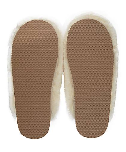Shepherd Hausschuhe in JENNY in Hausschuhe beige kaufen - 47889501 GÖRTZ Gute Qualität beliebte Schuhe 92f1d3