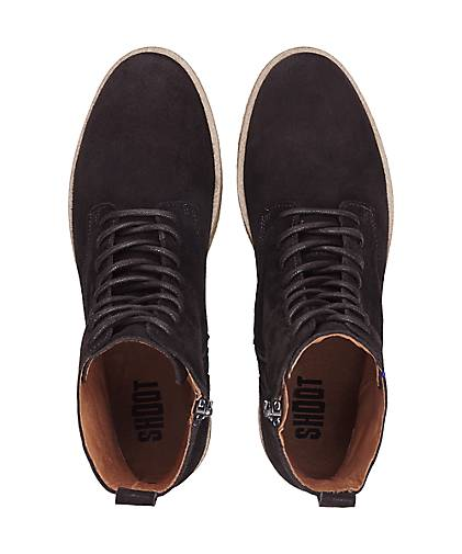 Shoot Schnür-Stiefeletten Gute in braun-dunkel kaufen - 47874402 | GÖRTZ Gute Schnür-Stiefeletten Qualität beliebte Schuhe c88119