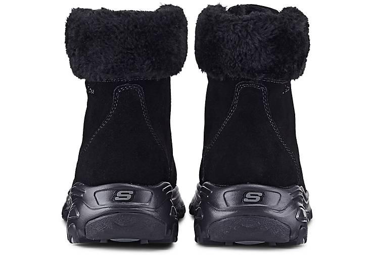 Skechers Boots D´LITES ALPS schwarz | GÖRTZ 47527601 jSElF