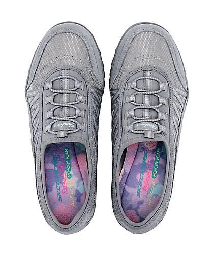 best sneakers 4029b a8cf9 Skechers Sneaker BREATH EASY in grau-dunkel kaufen ...