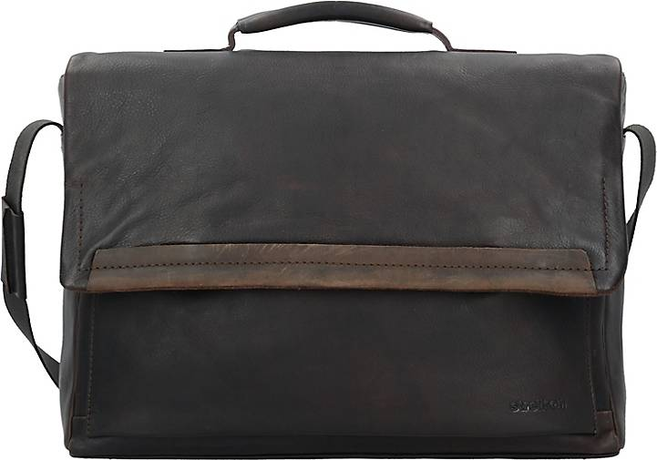 Strellson Camden Aktentasche Leder 41 cm Laptopfach