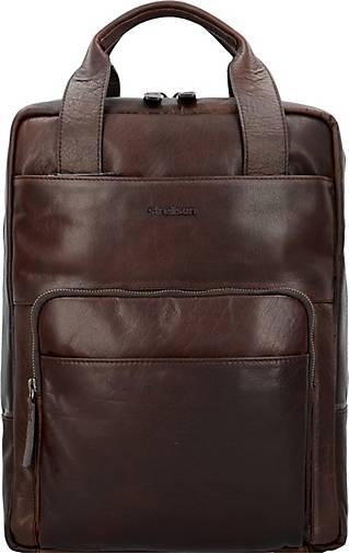 Strellson Coleman 2.0 Rucksack Leder 40 cm Laptopfach