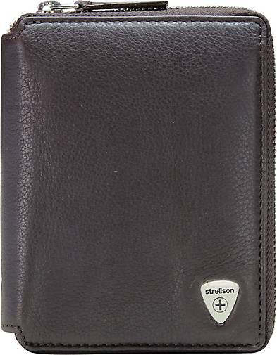 Strellson Harrison BillFold Z6 Geldbörse Leder 10,5 cm