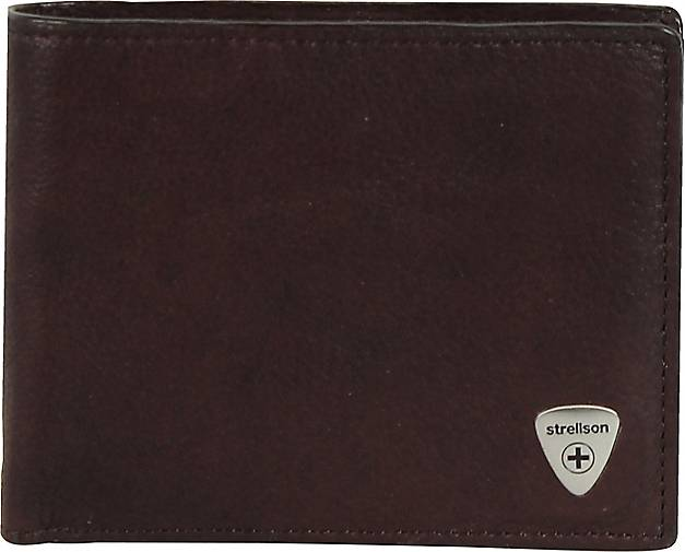 Strellson Harrison Geldbörse Leder 12cm