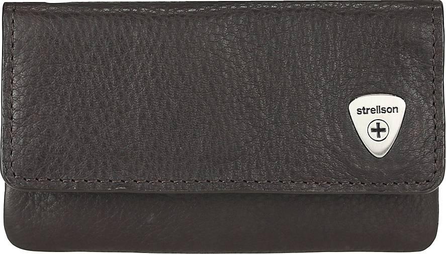 Strellson Harrison Schlüsseletui Leder 12 cm