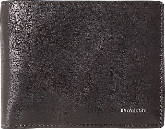 Strellson Jefferson BillFold H8 Geldbörse Leder 12 cm