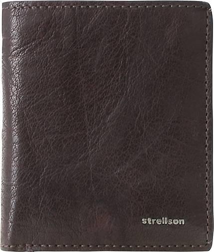 Strellson Jefferson BillFold Q6 Geldbörse Leder 9 cm