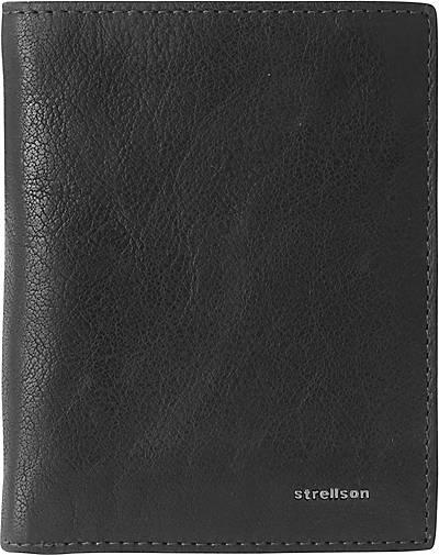 Strellson Jefferson BillFold V8 Geldbörse Leder 10,5 cm
