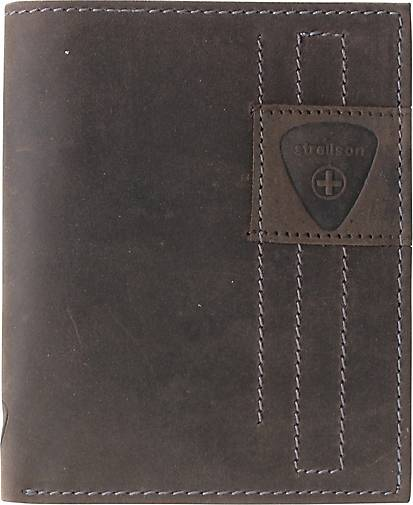 Strellson Richmond BillFold V12 Geldbörse Leder 10,5 cm