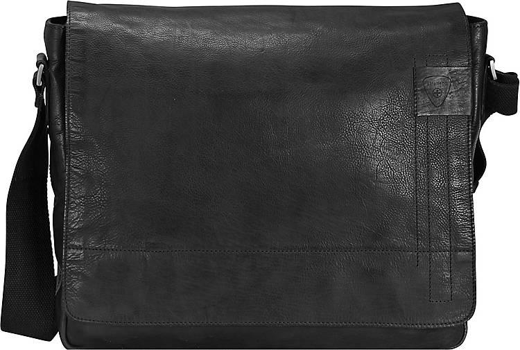 Strellson Upminster Messenger Leder 39 cm Laptopfach