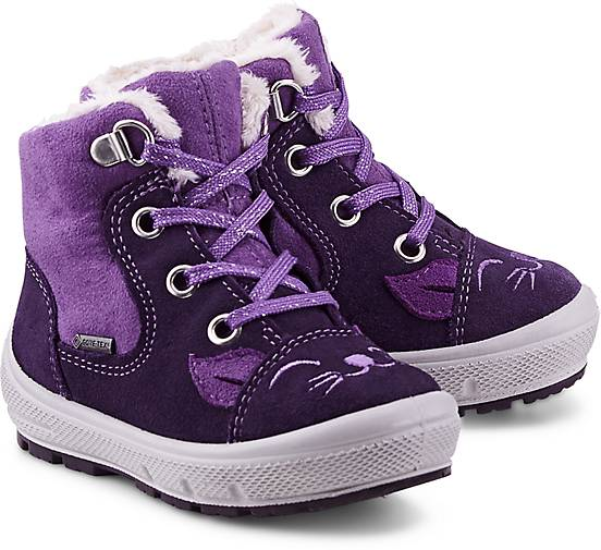 Winter Boots GROOVY von Superfit in lila dunkel für Mädchen. Gr. 21,22,23,24,25,26 Preisvergleich
