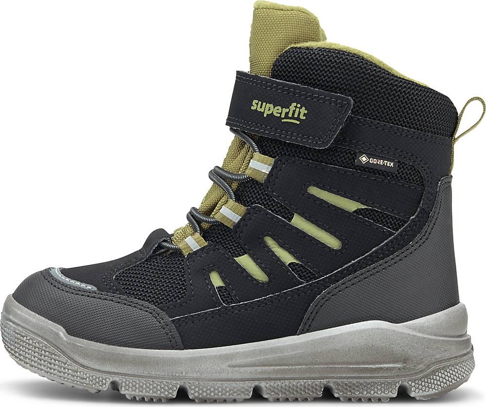 Superfit, Winter-Boots Mars in schwarz, Stiefel für Jungen, Größe: 27