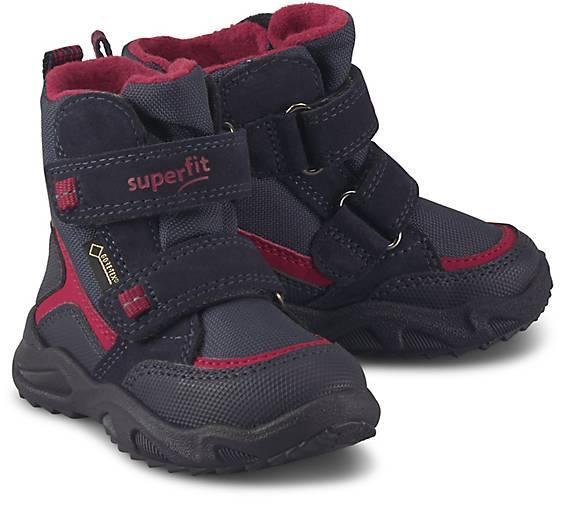 superfit Superfit Glacier Kinder Winterstiefel Schuhe Blau, Größe:26
