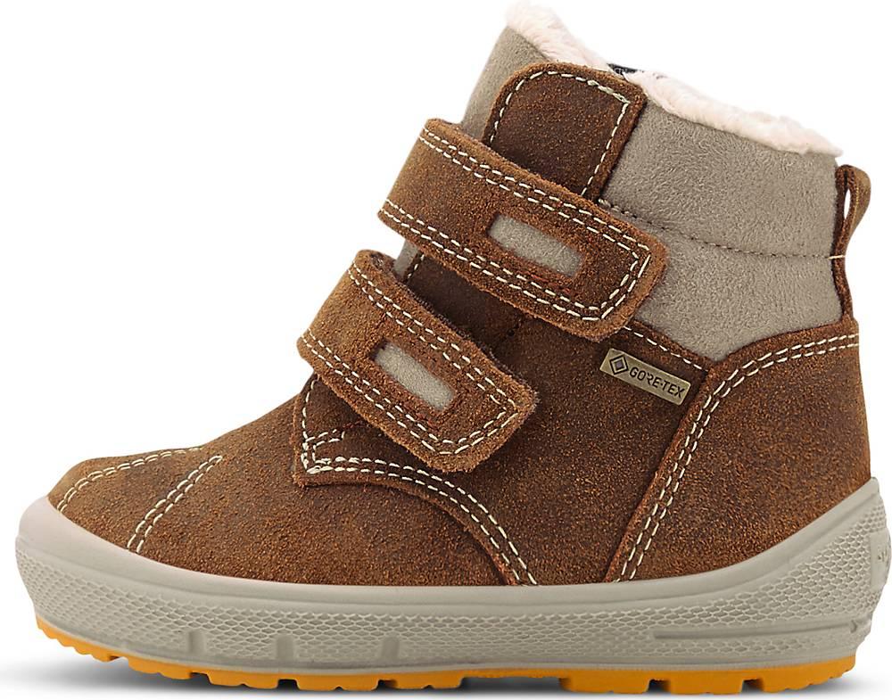 Superfit, Winter-Lauflerner Groovy in mittelbraun, Stiefel für Jungen, Größe: 22