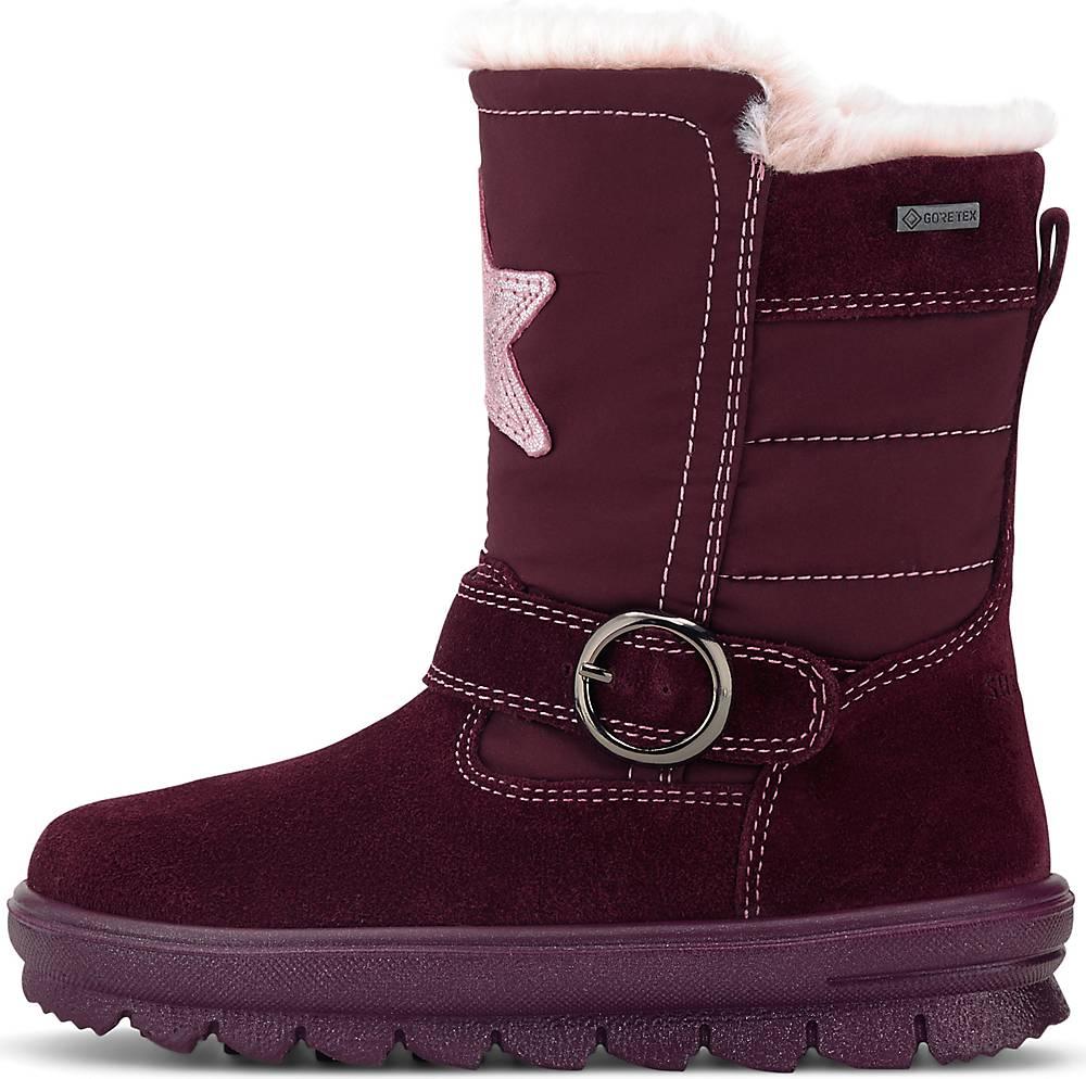 Superfit, Winter-Stiefel Flavia in bordeaux, Stiefel für Mädchen, Größe: 27