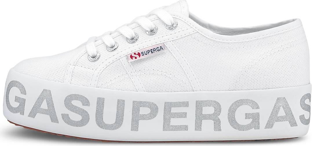 Superga Sneaker 2730 COTW GLITTERLETTERING