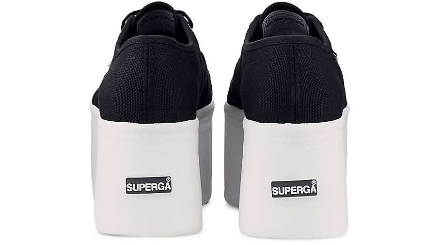 Superga Turnschuhe COTW COTW Turnschuhe PLATEAU in schwarz kaufen - 47129402 GÖRTZ Gute Qualität beliebte Schuhe d7b191