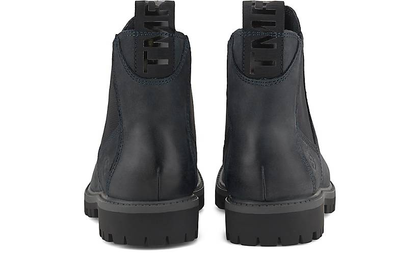 TAMARIS Damen Chelsea Boots Blau   Trendbereich