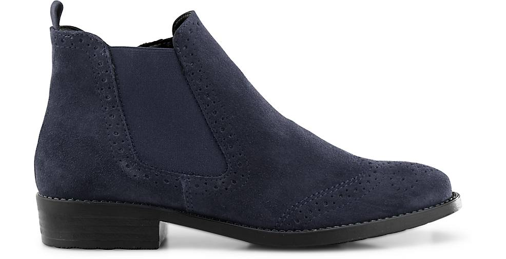 Tamaris Chelsea-Stiefelette - in blau-dunkel kaufen - Chelsea-Stiefelette 46590801 | GÖRTZ f05bd4