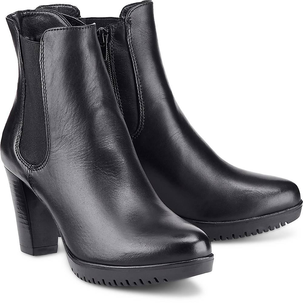 Chelsea-Stiefelette von Tamaris in schwarz für Damen. Gr. 37,38,40,41 Preisvergleich