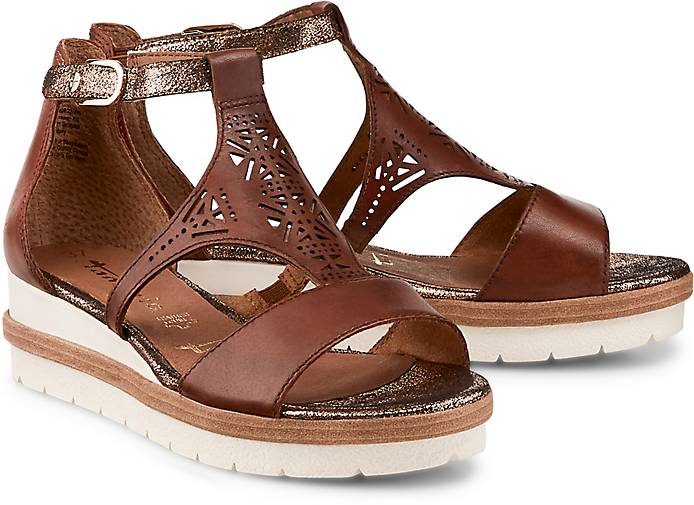 Tamaris Sandale Braun Damen Schuhe Sandalen Sandaletten