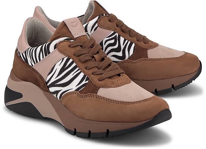 Tamaris Fashion Sneaker mittelbraun | GÖRTZ 48972401 TpjGM