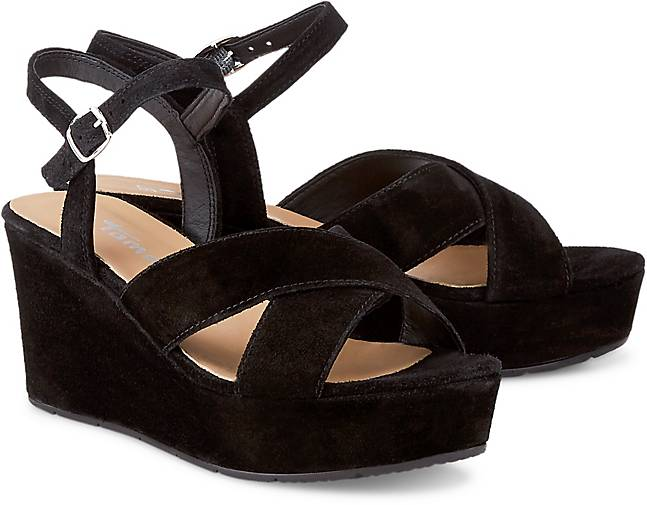 free shipping 45cd4 be094 Keil-Sandalette