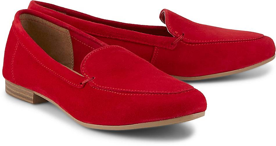 4d0e2728c40bb4 Tamaris Klassik-Slipper in rot kaufen - 48126103