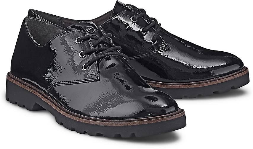 40b7e1ce16db65 Tamaris Lack-Schnürer Lack-Schnürer Lack-Schnürer in schwarz kaufen -  47604101 GÖRTZ Gute Qualität beliebte Schuhe f04f97