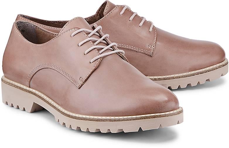 Tamaris Leder-Schnürer in Rosa kaufen - 47115603 GÖRTZ Gute Qualität beliebte Schuhe