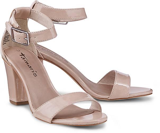 tamaris sandalette sandaletten beige g rtz. Black Bedroom Furniture Sets. Home Design Ideas