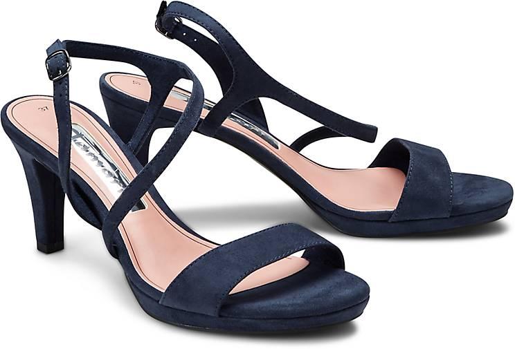 tamaris sandalette sandaletten blau dunkel g rtz. Black Bedroom Furniture Sets. Home Design Ideas