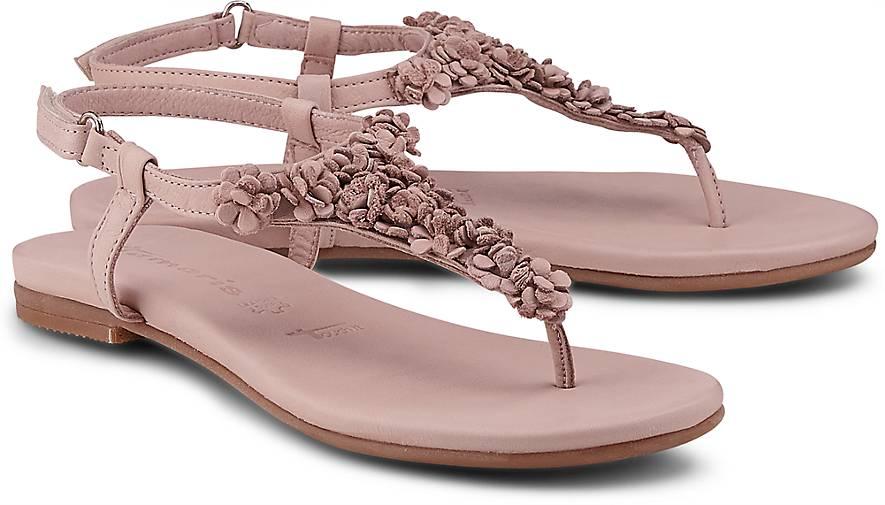 tamaris sandalette zehentrenner rosa g rtz. Black Bedroom Furniture Sets. Home Design Ideas