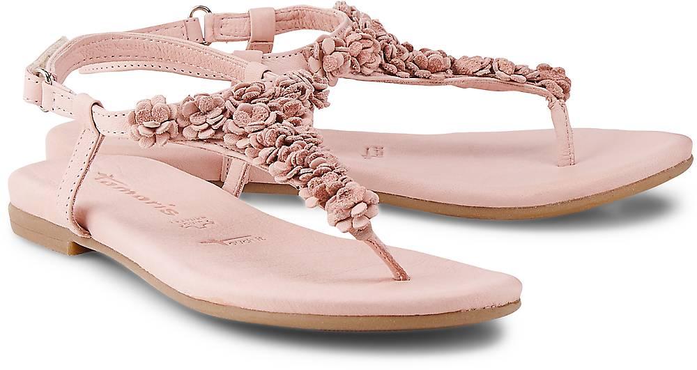 Sandalette von Tamaris in rosa für Damen. Gr. 36,37,38,39,40 Preisvergleich