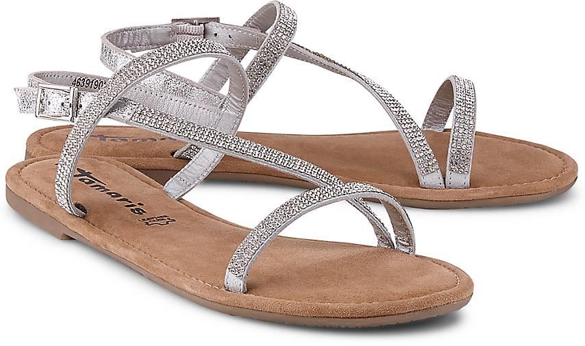 Günstig Kaufen Größte Lieferant Shop-Angebot Verkauf Online TAMARIS Sandale silber Räumungsverkauf Online hkmaJfY